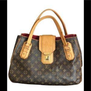 LOUIS VUITTON Griet Monogram Handbag Satchel